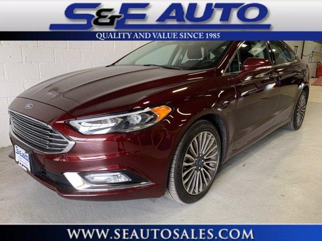 Used 2017 Ford Fusion SE for sale $17,498 at S & E Auto Sales Weymouth in Weymouth MA
