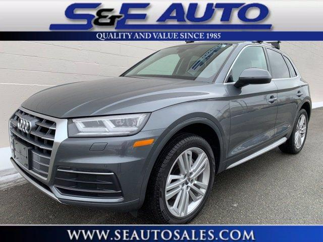 Used 2019 Audi Q5 2.0T Premium Plus for sale $40,998 at S & E Auto Sales Weymouth in Weymouth MA