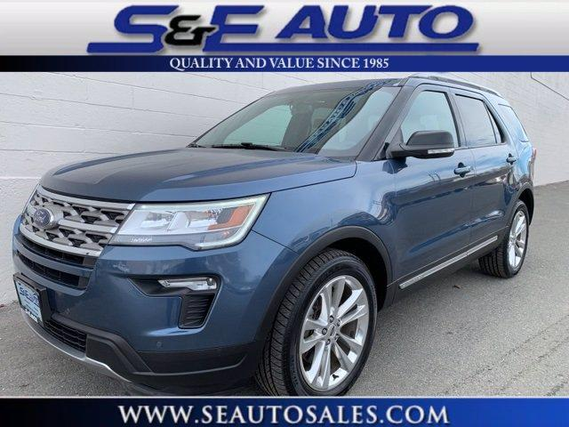 Used 2018 Ford Explorer XLT for sale $29,498 at S & E Auto Sales Weymouth in Weymouth MA